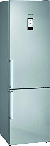 Siemens KG39NAIDP iQ500 Freistehende Kühl-Gefrier-Kombination / A+++ / 182 kWh/Jahr / 366 l / hyperFresh Plus / noFrost / LED-Innenbeleuchtung / superCooling
