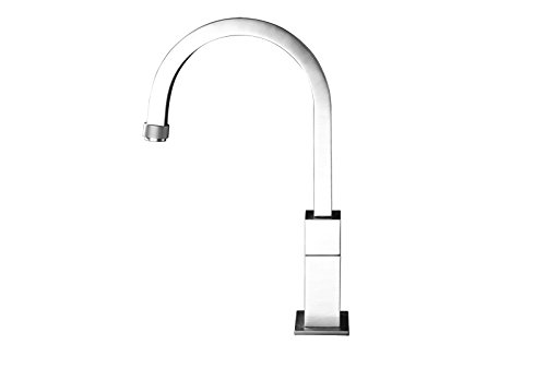 Gessi kitchen taps P Quadro kitchen tap with progressive flow-rate control 17207