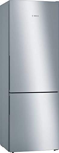 Bosch KGE49AICA Serie 6 Freistehende XXL-Kühl-Gefrier-Kombination / C / 201 x 70 cm / 163 kWh/Jahr / Inox-antifingerprint / 302 L Kühlteil / 117 L Gefrierteil / LowFrost / VitaFresh