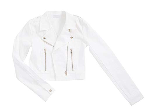 Brautjacke Jacke Spitze Jeansjacke Jeans Braut Ivory Bolero Neu Creme XS S M L XL (XXL)