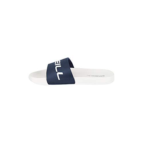 O'Neill Herren Fm Slide Logo Sandalen, Weiß (Powder White 1030), 42 EU