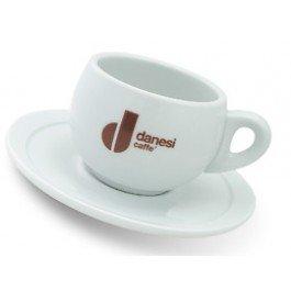 Danesi Caffe Latte Tassen weiss, 4er Set