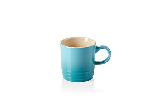 Le Creuset Espresso-Tasse, 100 ml, Steinzeug, Karibik (Türkis)