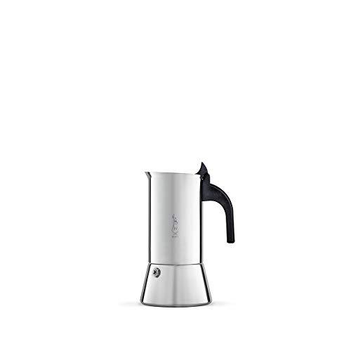 Bialetti Venus Espressokocher, Edelstahl, Silber, 2 Tassen