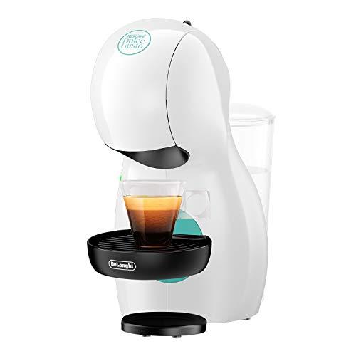 De'Longhi Nescafé Dolce Gusto Piccolo XS EDG 210.W Kapselmaschine (für heiße und kalte Getränke, 15 bar Pumpendruck, manuelle Wasserdosierung) weiß