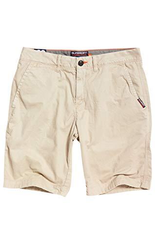 Superdry Herren International Slim Chino Lite Shorts, Beige (Sand Dollar Q2x), W(Herstellergröße: 36)
