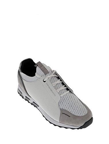 Emporio Armani , Herren Sneaker, Weiß - Bianco - Größe: 44 EU