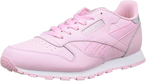 Reebok Classic Leather BS8981 Sneaker, Pink (Sour Rose Melon/White), 36 EU