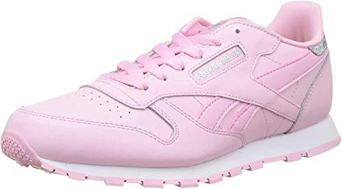 Reebok Classic Leather Pastel, Mädchen Laufschuhe, rosa - Rosa (Charming Pink/White) - Größe: 38