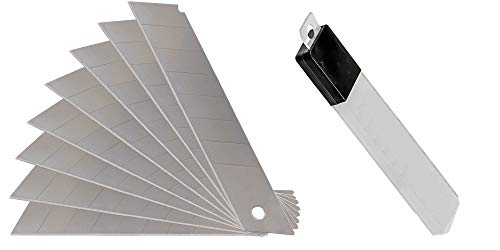 Abbrechklingen | 200 Stück | 0,4mm Stark | für Cuttermesser mit 18mm Klingen Cutter Messer Abbrechmesser