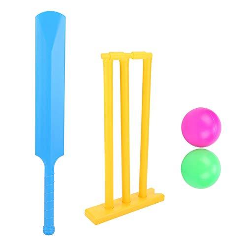 VGEBY Kinder Cricket Spielzeug Set, Outdoor Kinder Cricket Bord Sport Spielzeug Kit Familie Spiel Set für Kind Geschenk Training Spielen