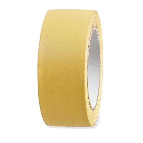 5x UV Putzerband PVC Schutzband gerillt gelb 50mm x 33m Putz Abklebeband außen