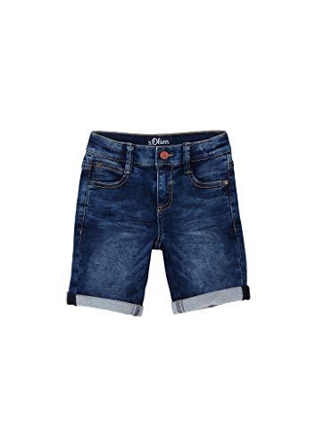s.Oliver Jungen Regular Fit: Bermuda aus Jeans Dark Blue 128.REG