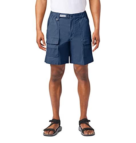 Columbia Herren Half Moon III Short UV Sonnenschutz Utility Pockets, Herren, Half Moon™ Iii Short, Carbon, 2X x 8