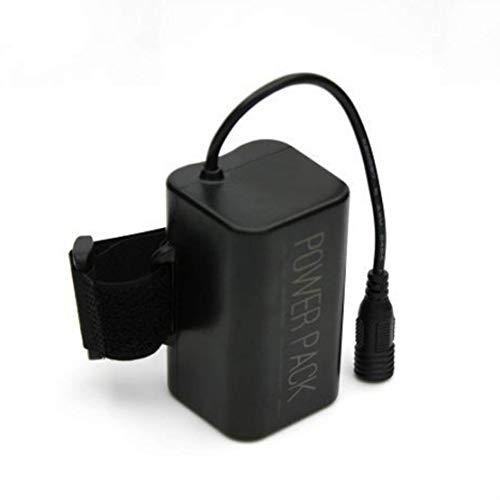 MIANBAOSHU Ersatzbatterie/akku 8.4V/8800mAh Wasserdicht akkupack/Waterproof Batterie Pack für:fahradlampen Set CREE XM-L T6 LED fahrad lichtset Usw.ersatz fahrradlicht Beleuchtungsgerät.