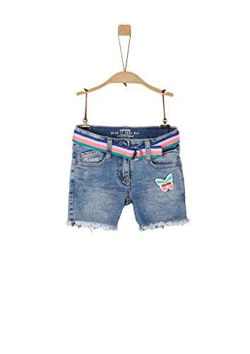 s.Oliver Junior Jeans Shorts, Mädchen, Blau 128 REG