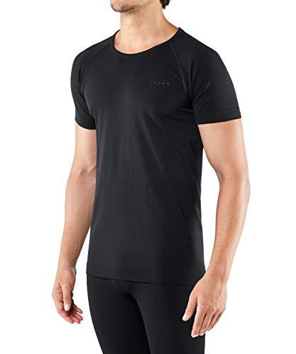 FALKE Herren Kurzarmshirt, Warm Short Sleeve Comfort Fit - Funktionsfaser, 1 Stück, Funktions Unterwäsche zum Sport, versch. Farben und Größen