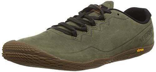 Merrell Herren Vapor Glove 3 Luna Leather Sneaker, Grün (Dusty Olive), 45 EU