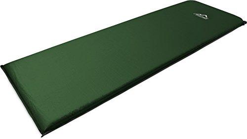 normani SELBSTAUFBLASENDE ISOMATTE THERMOMATTE Farbe Oliv Größe 197 x 64 x 7 cm