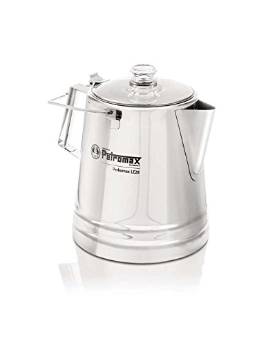 Petromax Perkolator aus Edelstahl le14 - 2.1 Liter, OVP Defekt