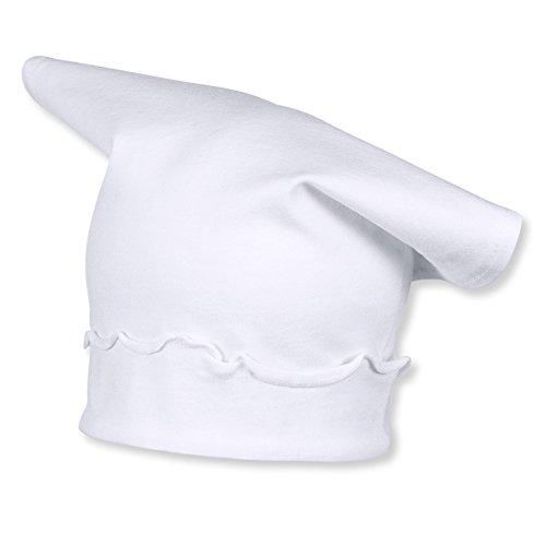Sterntaler Kopftuch für Mädchen mit Rüschen, Alter: ab 18-24 Monate, Größe: 51, Weiß