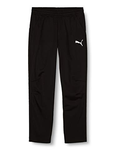 PUMA Kinder LIGA Training Pants Core Jr Hose, Black White, 152