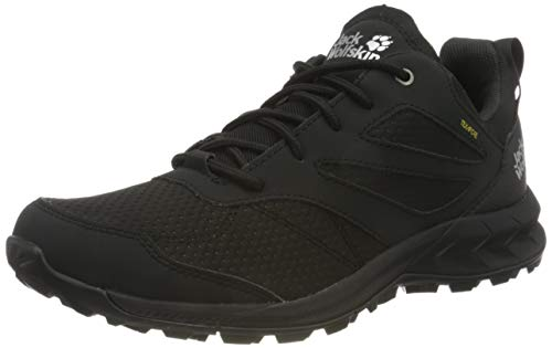Jack Wolfskin Herren Woodland Texapore Low M Outdoorschuhe, Black, 41 EU