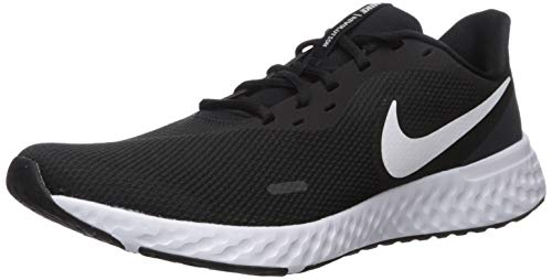 Nike Herren Revolution 5 Leichtathletikschuhe, Schwarz (Black/White-Anthracite 002), 43 EU