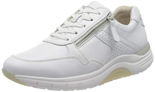 Gabor Damen Rollingsoft 46.938 Sneaker, Weiß (Weiss 50), 38.5 EU
