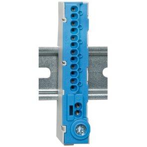 Nullleiter-Klemme, 12-polig, blau