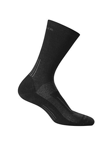 Icebreaker Herren Wandersocken Hike Light Crew Socke, Black, M