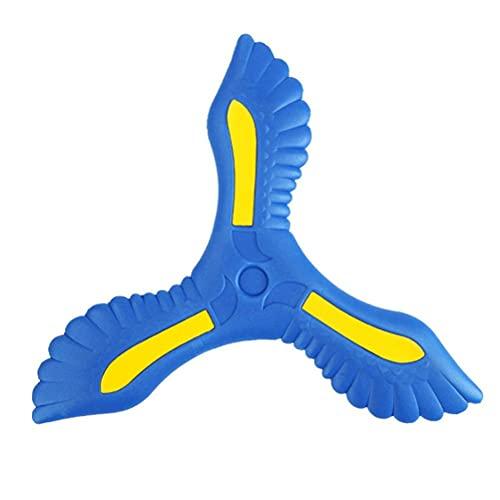 Bumerang Spielzeug, Kinder Bumerang mit 3 Klingen Schnell Fangen ZurüCk Bumerang, Outdoor Spaß Spielzeug Sport Werfen Fliegendes Spielzeug, Kinder Werfen Sportspielzeug