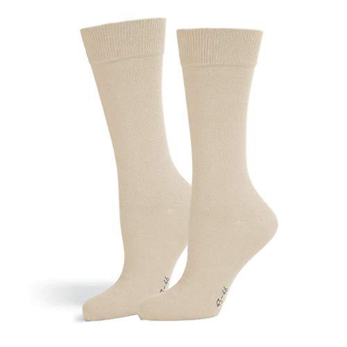 Safersox Classic Mückenschutz-Socke Socken - Beige, 43-46