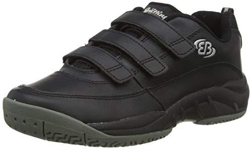 Bruetting RACKET V, Unisex-Erwachsene Sneakers, Schwarz (SCHWARZ), 43 EU (9 Erwachsene UK)