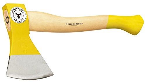 Ochsenkopf Forstbeil, Polierte Schneide, Robustes Eschenholz, 36cm, 0,9 kg