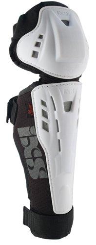 IXS Erwachsene Knee/Shin Guard Hammer, weiß, L
