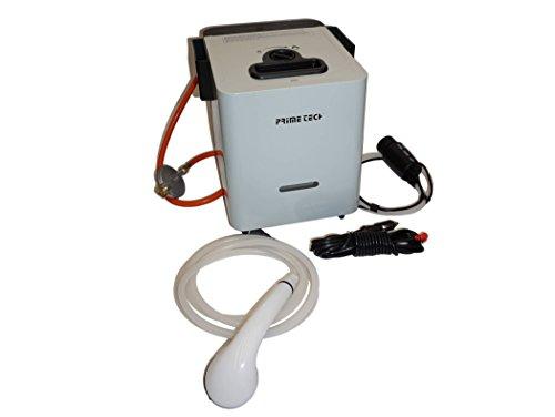 Prime Tech Camping Warmwasser-Bereiter Durchlauferhitzer Gas-Betrieb
