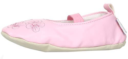 Playshoes Mädchen, Balettschlà â¤ppchen Blumen Gymnastikschuhe, Pink (original 900), 26/27 EU