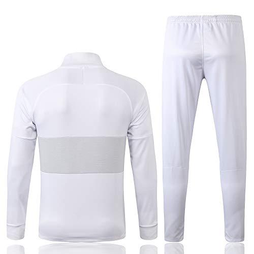 Fußball Anzug Jacke Paris Aussehen Anzug Porto Lyon Feyeno De Flamenco Herbst und Winter Trainingsanzug Set 19~20 Weiß