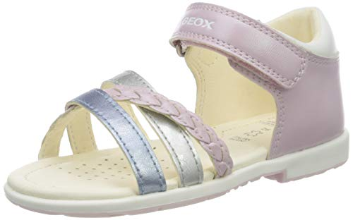 Geox Baby Mädchen B Verred a Sandalen, Pink (Pink/Multicolour C8206), 20 EU