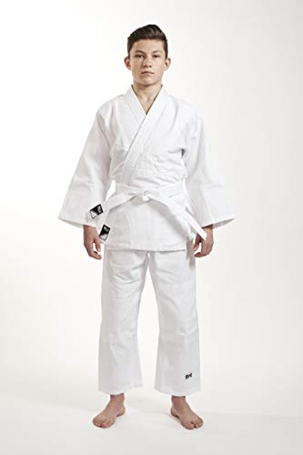 Ippon Gear Kinder Judoanzug Beginner, Weiß, 130
