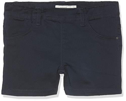 Name IT NOS Mädchen Shorts NKFSALLI TWITINNA AF NOOS, Blau (Dark Sapphire), (Herstellergröße: 104)