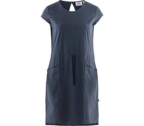 FJALLRAVEN Damen High Coast Lite Dress W Kleider, Marineblau, M