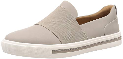 Clarks Un Maui Step Womens Slip On Sports Shoes 38 EU Stone Nubuck