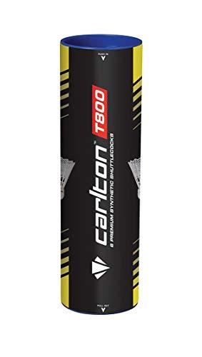 Carlton T-800Slow Speed Badminton Shuttle, weiß/grün, Slow