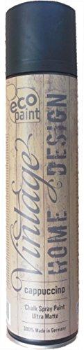 Vintage Kreide Spray cappuccino 400ml Kreidefarbe Chalk Paint Shabby Chic Landhaus Stil Vintage Look