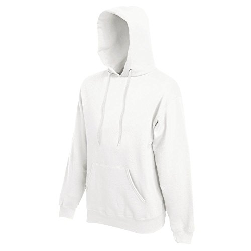 Fruit of the Loom - Kapuzen-Sweatshirt 'Hooded Sweat' XL,White