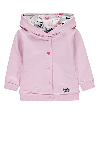 Kanz Baby-Mädchen 1/1 Arm m. Kapuze Sweatjacke, Pink (Pink Lady Rose 2720), 62