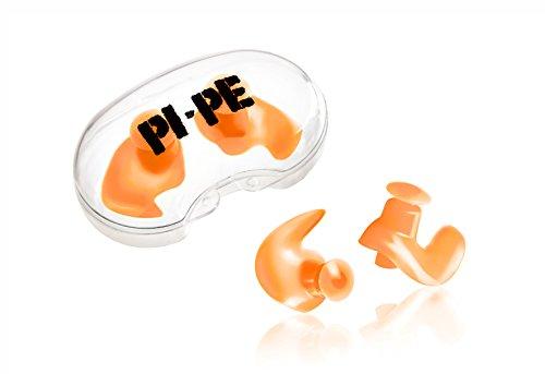 PI-PE wasserdichte Ohrstöpsel für Kinder aus Silikon - Komfortable Ohrenstöpsel zum Schwimmen, Tauchen und Schnorcheln - Ohrschutz gegen Wasser mit Aufbewahrungsbox