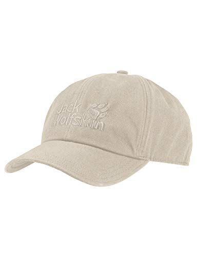 Jack Wolfskin Baseball Kappe unisex, beige (light sand), ONE SIZE (56-61CM)